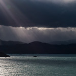 Sun Shafts on Lake Toro
