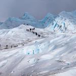 Trekking on the Perito Moreno Glacier