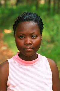 Rwandan Woman, Botanical Gardens, National University, Butare, Rwanda, 2007