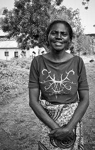 Rwandan Woman near Kigali, Rwanda, Africa