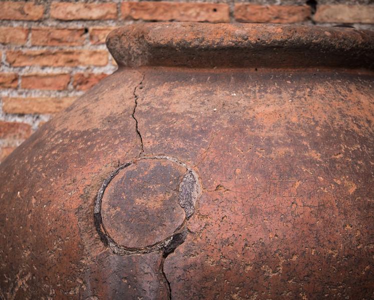 Ancient Greek Clay Urn