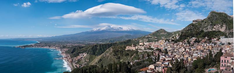 Mt Etna Panorama