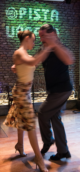 Tango Dancing Blur