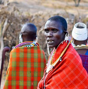 Masai woman, Ngoro Ngoro, Tanzania, 2007