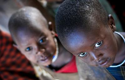 Masai school children, Ngoro Ngoro, Tanzania, 2007