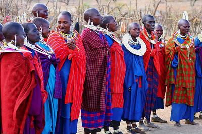 Masai women, Ngoro Ngoro, Tanzania, 2007