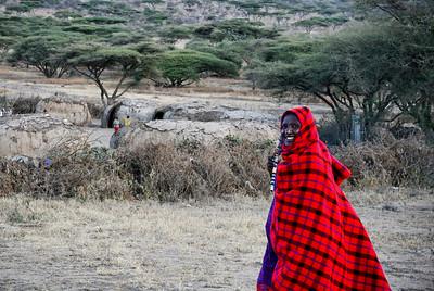 Masai men, Ngoro Ngoro, Tanzania, 2007