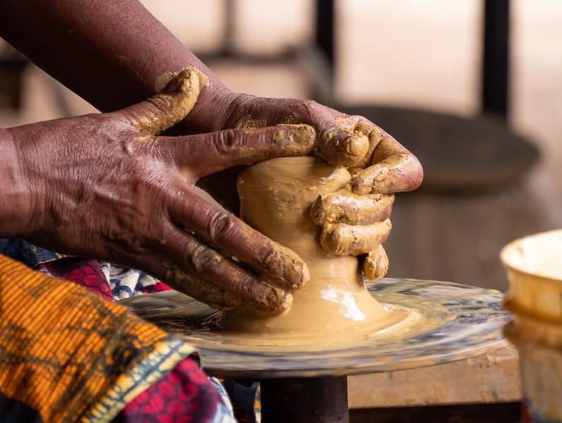 Making Pottery