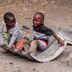 Maasai Boys Playing