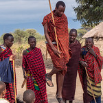 Traditional Maasai Jumping Dance