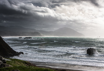 Stormy Oregon Coast