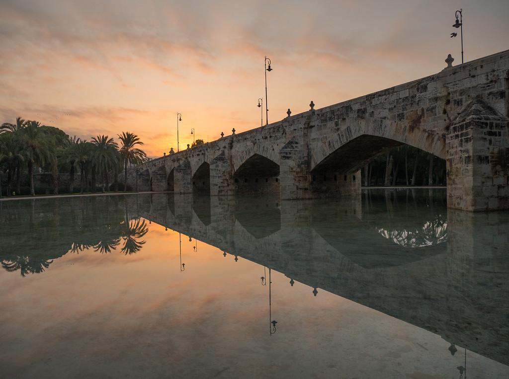 Puente del Mar at Sunrise
