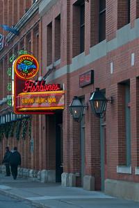 Fishbone's restaurant, Greektown, Detroit