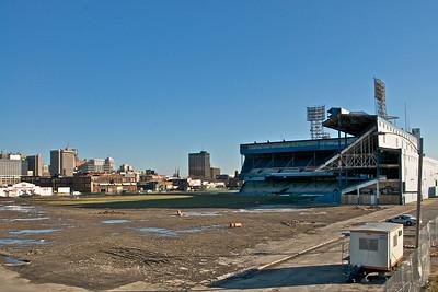 Remains of Tiger Stadium