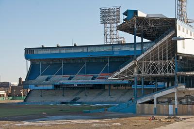 Remains of Tiger Stadium, Detroit
