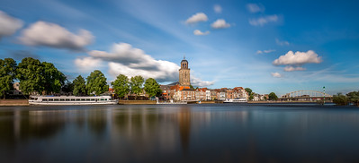 Deventer Skyline in de zomer
