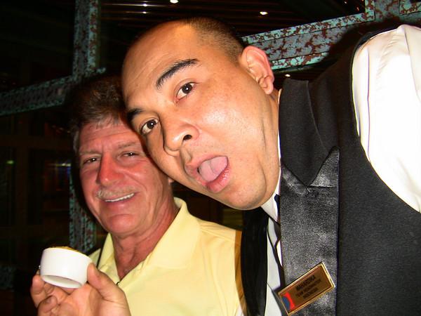 Waiter on cruise 2011