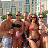 Daughter and friends 2012 at Harrah's pool party. Kyrstyn is in the black top