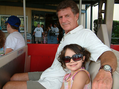 My granddaughter Disney 2010 Orlando