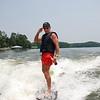 Wake surfing 2012 behind the Moomba