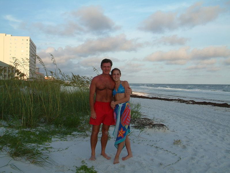 My daughter Kyrstyn in Destin 2009