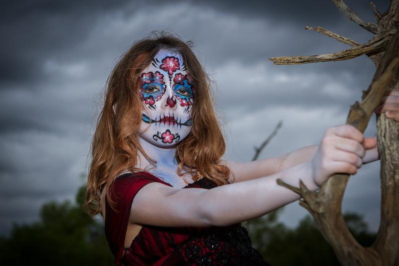 Make up: Sharon Hodges<br /> Photo: Robert Long