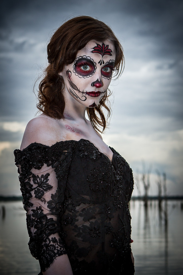 Make up: Vicki Long<br /> Photo: Robert Long