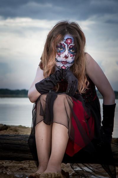 Make up: Sharon Hodges <br /> Photo: Robert Long
