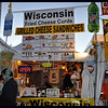 Wisconsin fried cheese curds food stand.