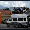 Moving Day?  Overloaded Van at Taco Bell