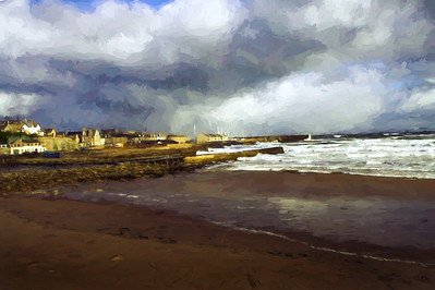 Stormy Lossiemouth