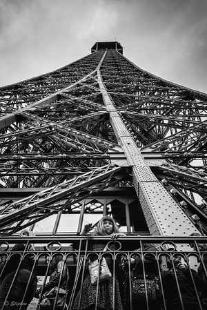 Contemplation at the Eiffel Tower