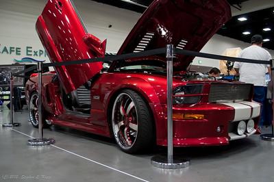 Gullwing Door Mustang