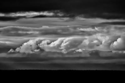 Clouds In Waning Alaskan Light