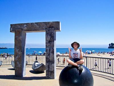 Santa Cruz Beach Boardwalk - West of Municipal Pier