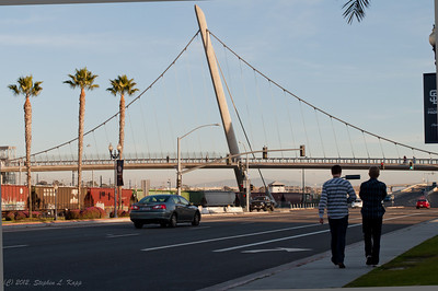 Pedestrian Bridge over Harbor Drive