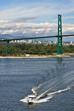 Lions Gate Suspension Bridge