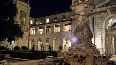 Pasadena City Hall Courtyard