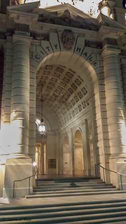 Pasadena City Hall Entrance