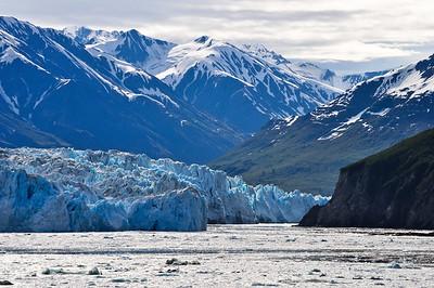 Inlet of Hubbard Glacier