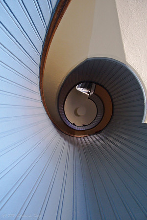 Pt. Loma Lighthouse Staircase