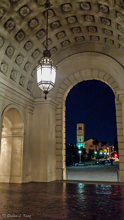 Looking Out From Entrance Lobby of Pasadena City Hall