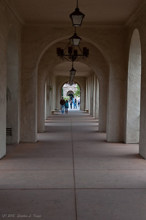 Balboa Park - Covered Walkway
