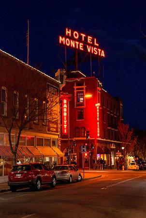 Hotel Monte Vista - Street Corner Night Life