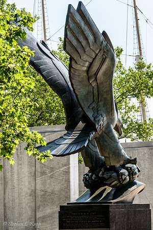 WWII Memorial Eagle