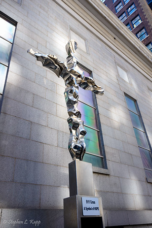The 9/11 Steel Cross - a Symbol of Hope