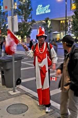 Patriotic Reveler - Canada Day, 2010