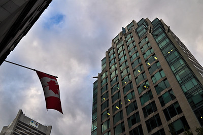 Canadian Flag - Downtown