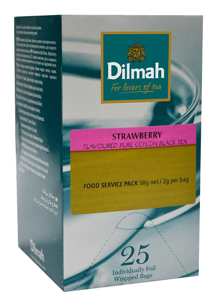 516199	DILMAH Strawberry (maasikas)	25tk*2g