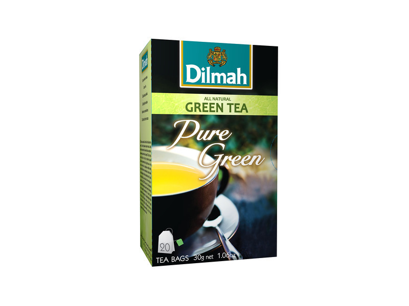502499, Dilmah roheline tee niidikesega kotis 20*1,5g